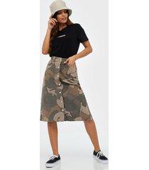wood wood grit skirt minikjolar