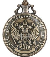 reloj bolsillo escudo rusia 3088