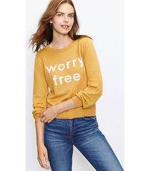 loft worry free sweater