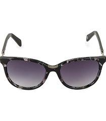 balmain women's 55mm gradient cat eye sunglasses - black
