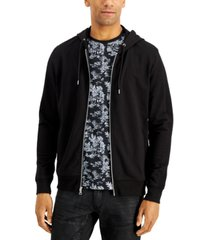 inc international concepts men's inc fortune full zip hoodie, created for macy's