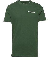alder knowledge tee - gots/vegan t-shirts short-sleeved grön knowledge cotton apparel
