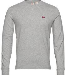 ls original hm tee medium grey t-shirts long-sleeved grå levi´s men