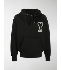 ami oversize ami de caur hoodie