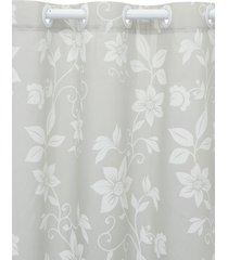 cortina  santista 180x280 londres lais cinza - cinza - dafiti