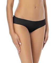 shirred smooth-fit cheeky bikini bottom