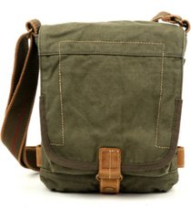 tsd brand atona classic flap canvas crossbody bag