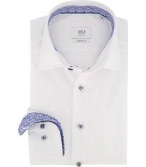 eterna overhemd wit comfort fit strijkvrij