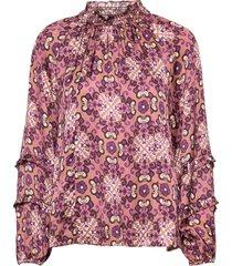 georgine blouse blouse lange mouwen bruin odd molly