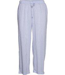 night trousers frenchy pyjamasbyxor mjukisbyxor blå lindex