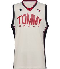 basketball iconic tank top t-shirts sleeveless vit tommy sport
