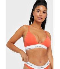 calvin klein underwear unlined triangle bandeau & soft-bra