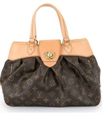 louis vuitton pre-owned boetie pm hand bag - brown