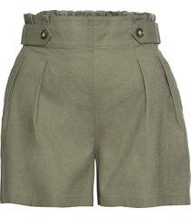 shorts in misto lino (verde) - rainbow