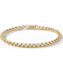 david yurman bel aire chain bracelet in 18k yellow gold, size large at nordstrom