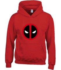 buzo estampado deadpool con capota saco hoodies marvel