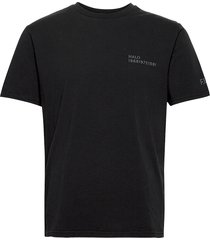 halo cotton tee t-shirts short-sleeved svart halo