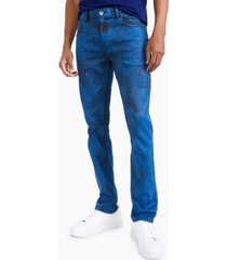 inc international concepts men's skinny-fit over-dyed jeans, created for macy's
