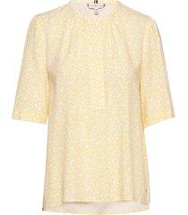 danee blouse ss blouses short-sleeved geel tommy hilfiger