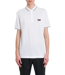 dolce & gabbana polo shirt with embroidered logo