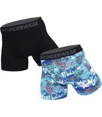 funderwear 2 pak heren boxer 76020-m