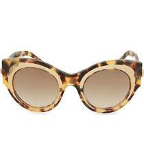 48mm cat eye core sunglasses