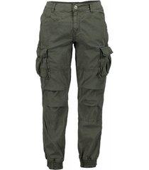 cargobroek scout cargo heren blauwe broek (pnt1389-groen m.)