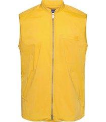 zip-front wind vest vest geel eton