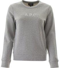 a.p.c. logo sweatshirt