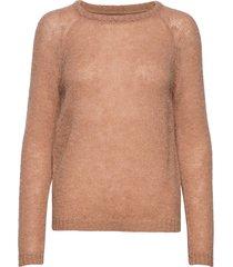 pziris pullover stickad tröja brun pulz jeans