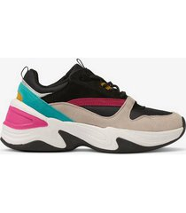 sneakers chunky suede