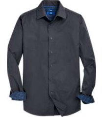 egara gray & navy stripe sport shirt
