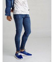 jean azul redskin con cierres