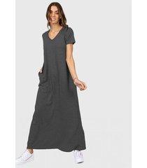 vestido gris chelsea market lola