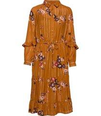 adele dr jurk knielengte oranje part two