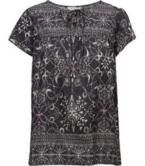 backb blouse blouses short-sleeved svart odd molly