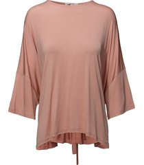 morina blouse lange mouwen roze dagmar