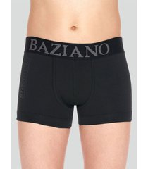 boxer algodón lycra negro baziani