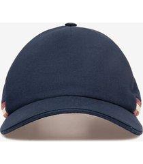 bally stripe cap blue 58
