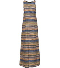 abito lungo (blu) - rainbow