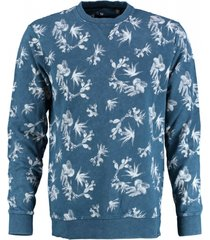 only & sons zachte blauwe sweater