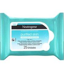lenço demaquilante neutrogena purified skin