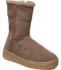 boot höga stövlar brun sofie schnoor