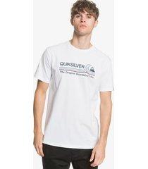 t-shirt korte mouw quiksilver stone cold classic eqyzt05748