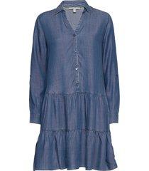 dresses denim dresses jeans dresses blå esprit casual
