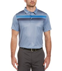 pga tour men's geo ombre-print polo shirt