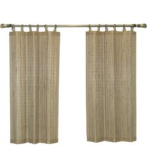 versailles home fashions bamboo wood ring top tier set