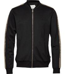 hermité track jacket sweat-shirt trui zwart les deux