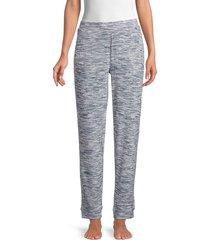 hue women's space-dye pants - total eclipse - size s