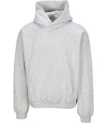 alexander wang logo embroidered hoodie